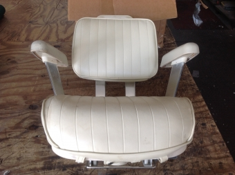 Pompanette Helm Chair from Grady White